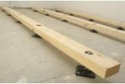 Как укладывать лаги на бетонный пол