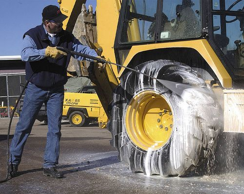 мыть технику