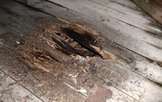 дырка в полу