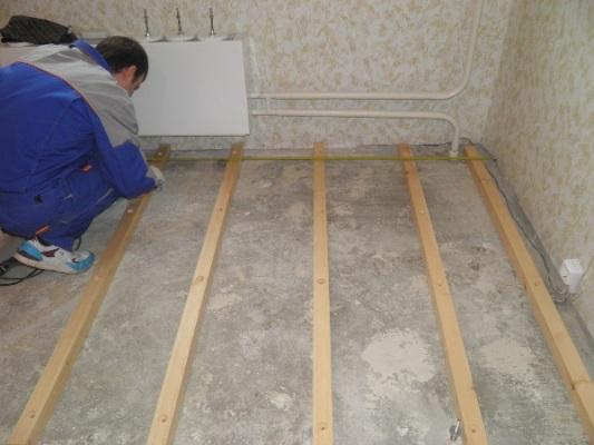 монтаж на бетон